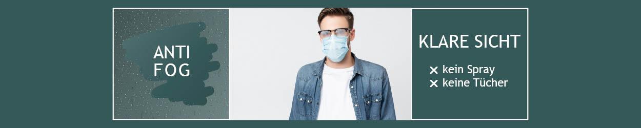 klare Sicht dank Anti-Fog Brillengläser von Optix Direct