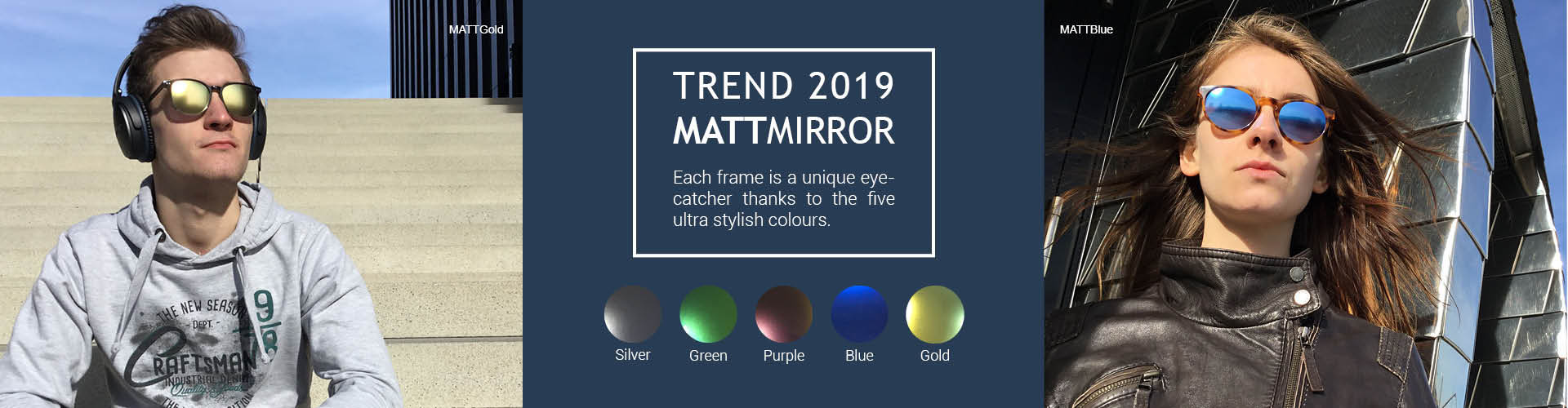 Optix Direct - Transitions Style Colors in den Farben Amethyst und Sapphire für mehr Freiheit zur Anpassung an Fassungsfarbe